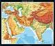Südwestasien - physisch