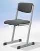 Lehrerstuhl - T-Fuß - offener Sitzträger