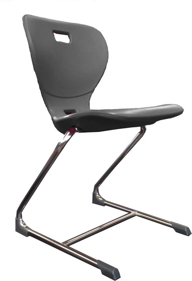 Freischwinger-Stuhl Ergometrik