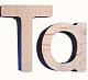 Holzbuchstaben - 88 Teile