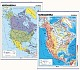 Nordamerika - physisch/politisch