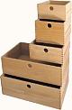 Holzschubkasten