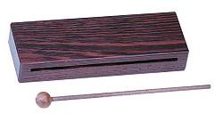 Holzblocktrommel aus Wenge