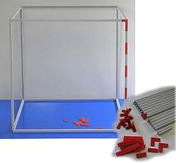 Kubikmeter mit Einteilung