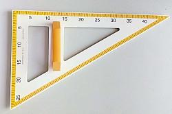 Zeichendreieck 60° - 50 cm