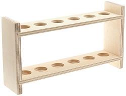 Reagenzglasgestell Holz
