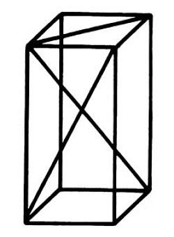 Quader - Kantenmodell