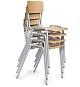 Stapelstuhl - Stuhl 4-Bein