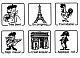 Stempel für Französisch